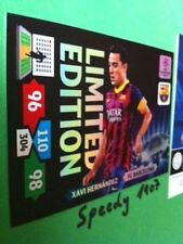 Champions League Xavi Barcelona 13 14  limited edition Panini Adrenalyn