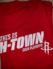 Houston Rockets T-Shirt THIS IS H-TOWN SGA Harden Clutch City 2014 Playoffs XL