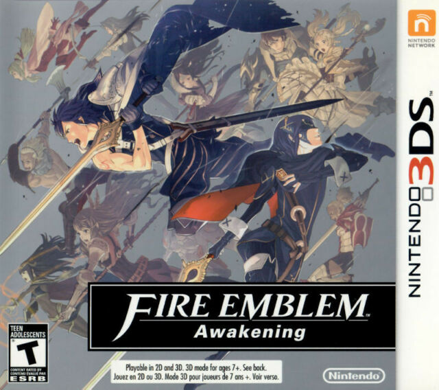 Fire Emblem: Awakening (3DS, 2013) VERY GOOD, WITH CASE, FREE SHIPPING