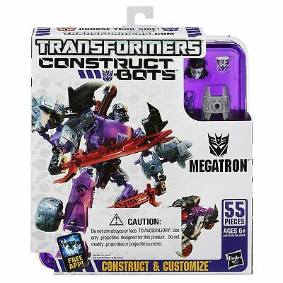 Transformers Construct Bots Megatron 55pc Building Set