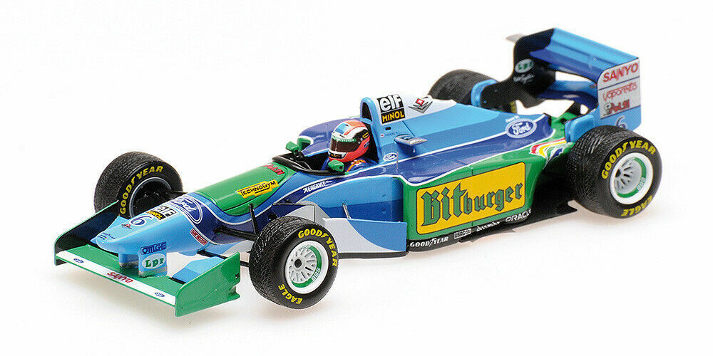 vendiendo bien en todo el mundo 1 43 43 43 Minichamps Benneton Ford B194 1994 Japanese Grand Prix J. Herbert 417941506  oferta especial