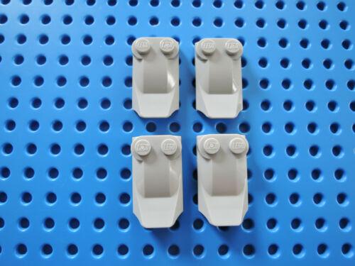 LEGO 4 x Flosse Motorhaube Spoiler 47456  2x3x2//3  neu hellgrau 7250 10174 75013