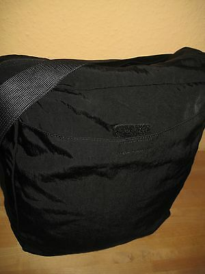 ESPRIT Tasche UNISEX Schwarz Groß Crossover Nylon - wenig getragen!