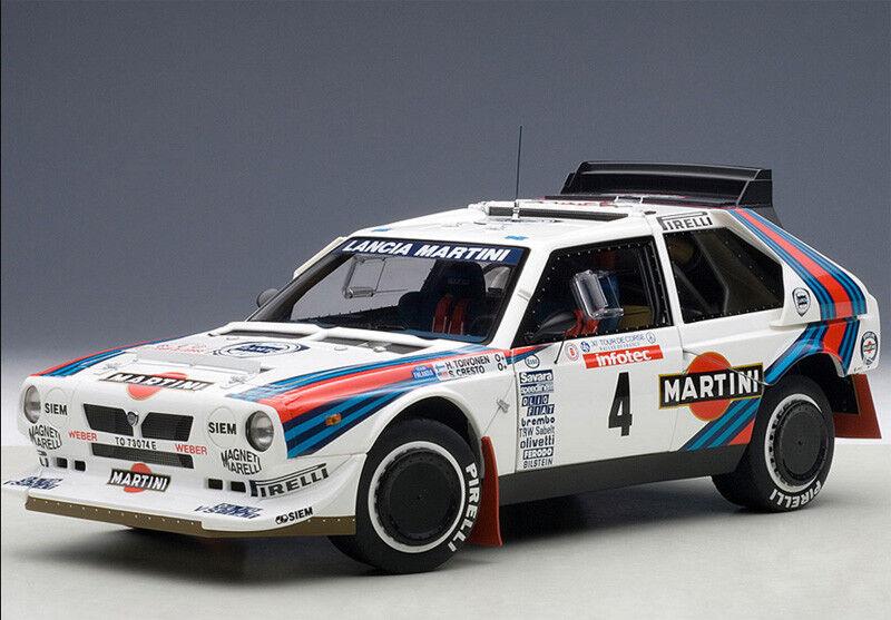 Autoart 1 18 Lancia Delta S4 Martini 1986 Toivonen Martini NEW