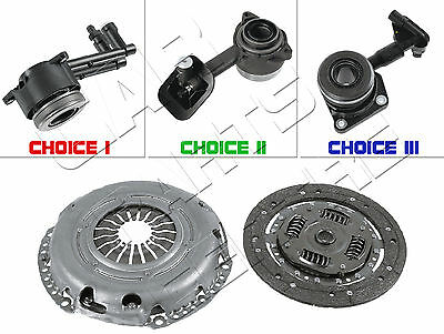CLUTCH KIT 3 PIECE HYDRAULIC SLAVE CYLINDER FOR FORD FOCUS MK1 1.8i ZETEC 1998