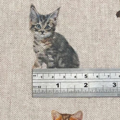 Riche coton luxe Digital Imprimé lin Vie Sauvage /& animaux largeur 140 cm par mètre