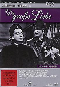 DIE-GROSSE-LIEBE-Grethe-Weiser-Zarah-Leander-Viktor-Staal-DVD-NEU-OVP-grosse
