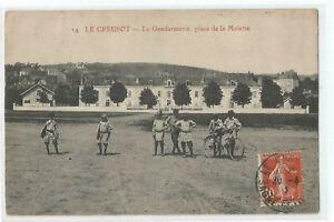 71-LE-CREUSOT-LA-GENDARMERIE-PLACE-DE-LA-MOLETTE