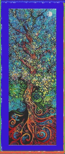 TREE OF LIFE~DELICA BEAD PEYOTE PDF PATTERN ONLY