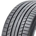 2x Summer Tyres Continental CONTISPORTCONTACT 5p 245/40r20 99y XL FR MO