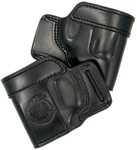 CEBECI BLACK LEATHER OWB YAQUI QUICK DRAW BELT HOLSTER CHARTER ARMS PATHFINDER