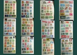 Great Stamp Collection From Germany Saar DDR Ext. Free Shipping Worldwide