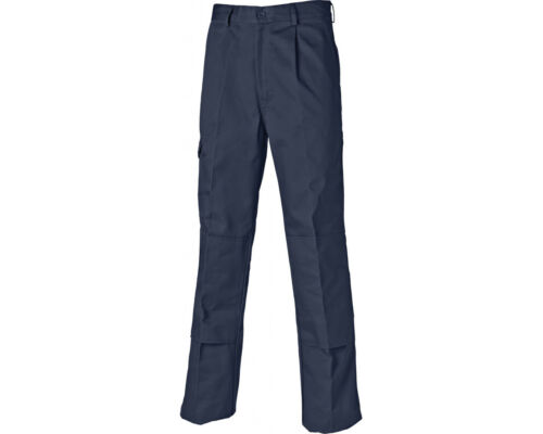 """Size 30/"""" T Dickies Redhawk Super Work Trousers WD884 Navy Tall Leg"""