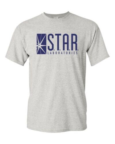 Star Labs The DC Flash Comics Superhero Reverse CW T-Shirt Tee
