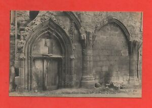 France-LA-CHAISE-DIEU-L-039-ancienne-abbaye-Porte-du-XVeme-siecle-K876