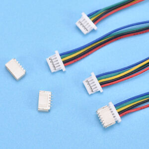 5-Pcs-Mini-Micro-Zh-1Mm-2-Connecteur-A-6-Broches-Avec-FE