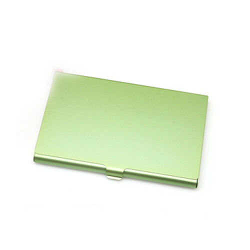 15 Stainless Steel Wallet RFID Blocking Identity Protection Card Holder Case #B