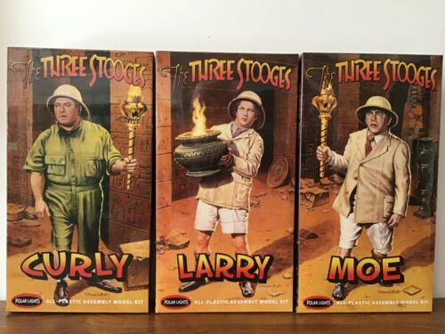 The Three Stooges Model Kits