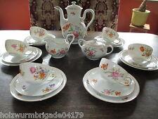schönes altes Kaffeeservice Rosenthal Selb Balmoral Streublume für 6 Personen