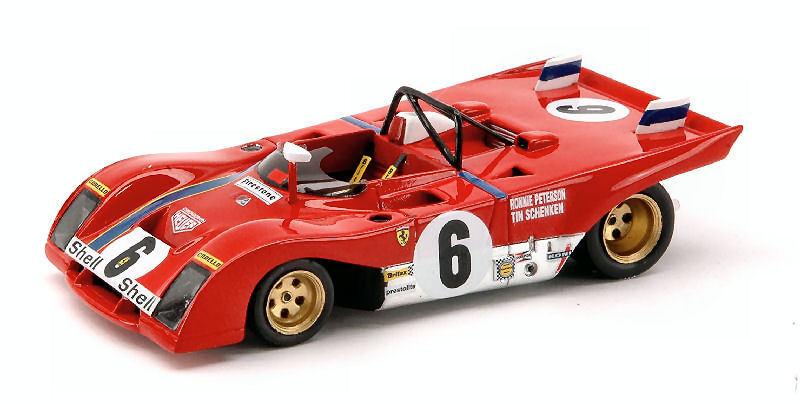 Ferrari 312 PB  6 2nd Daytona 1972  1 43 Model rougeLINE  le plus préférentiel