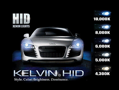 HID Xenon LIGHTS CONVERSION KIT  - H7 Slim Line Kit Fitting Available in London