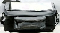 NEW BICYCLE HANDLEBAR BIKE BAG CYCLE FRONT PANNIER INCLUDING MAP HOLDERS GREY