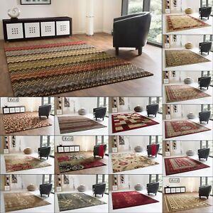 Designer-Teppich-Modern-Dschaipur-Vintage-Mosaik-Floral-Orientteppich-Neu
