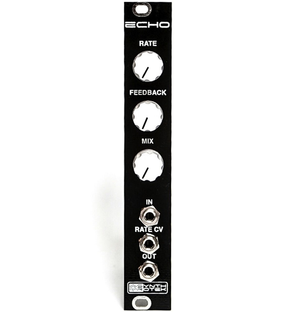 ECHO by Synthrotek - Voltage Controlled Echo Eurorack Module