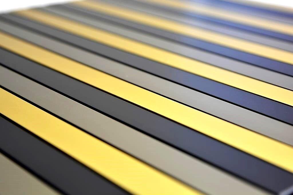 Mosaik Stäbchen Aluminium mix schwarz/bronze/gold Küche Art: Art: Art: 49-B301 | 10 Matten 45b5ac