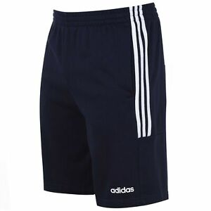 Details about adidas Men 3S Jersey Shorts Pants Trousers Bottoms Lightweight Drawstring