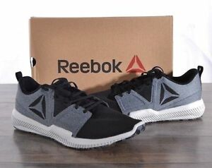 c9996b236b40 NEW Reebok Men s Hydrorush TR Athletic Shoes GREY  BLACK  H PICK ...