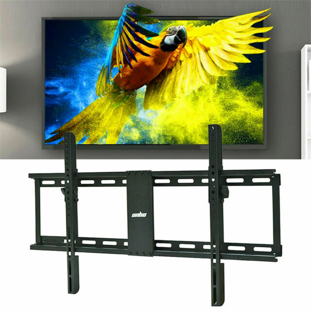 """Up to 85/"""" Large TV Wall Mount Bracket Cantilever Tilt Fixed for Brick //Stud Wood"""