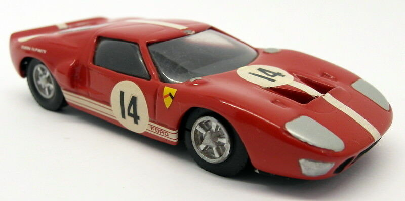 Unbranded 1 43 43 43 scale White Metal - 20MAR2018G Ford GT40 Race Car a68a27