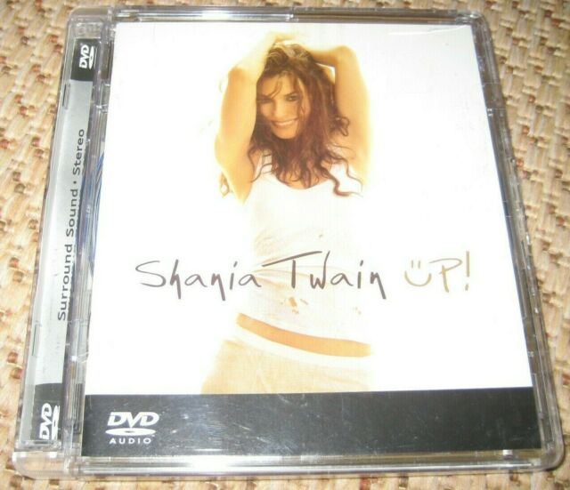 Shania Twain Up! DVD Audio Disc Multichannel 5.1 OOP DVD-Audio USA