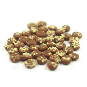 8x-Miniatura-para-Casa-de-Munecas-Chocolate-Cookies-Pan-Rallado