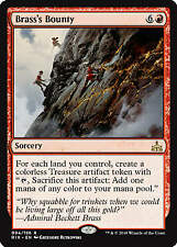 Brass/'s Bounty MTG Rivals of Ixalan Draft Foil PROMO Mint QTY Available
