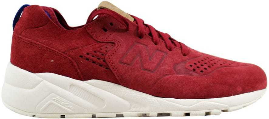 New Balance 580 Decostruita Burgundy Bianco Sporco Mrt580dr men Taglie 7