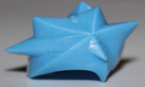 Lego Medium Blue Minifig Headgear Hair Angular Swept Sideways Hikaru NEW