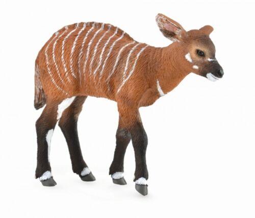 BONGO ANTILOPE vitello giocattolo modellino da Collecta 88823 Nuovo con tag-Gratis UK Spese di spedizione *