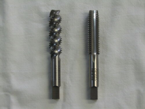 Thread Taps Hanson Whitney Pair 2 For the Price of 1 1//2-13 tpi Made in USA