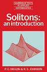 Solitons: An Introduction by R. S. Johnson, P. G. Drazin (Paperback, 1989)