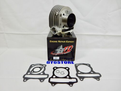 63mm TAIDA 180cc 54mm SPACING SMOOTH TOP CAST PISTON GY6 CYLINDER SET WITH