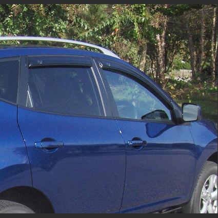 AVS Vent Visors Window Deflectors Rain Guards for 05-18 Nissan Frontier Crew Cab