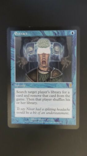 EX//SP Odyssey ** Extract ** Mtg Magic