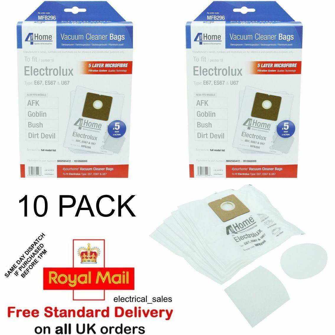 electrolux mini vacuum cleaner bags