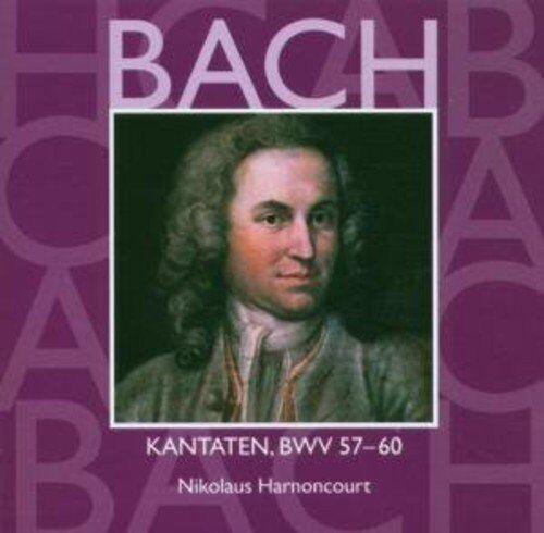 Bach: Kantaten Heilige Vol. 18 Bwv 57 - 60 / Nikolaus Harnoncourt - CD