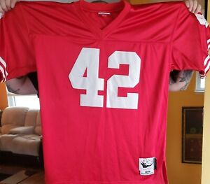 Details about Mitchell & Ness San Francisco 49ers Ronnie Lott Jersey Throwback SZ 54 3XL 1989
