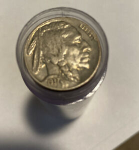 $2 Buffalo Nickel Roll ~ 40 Coins ~ Vintage PDS ~ Old US Lot Mixed Date