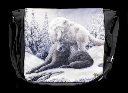 À Bandoulière Lisa Parker Avec Fantasy Loups Neige Sac Kisses dFxUqz5wdA