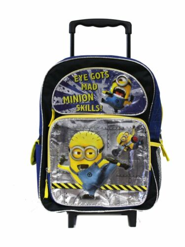 Despicable Me Minion 16 inches rolling backpack for kids - Eye Gots Mad